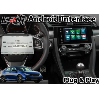 China Civic Honda Video Interface , Android GPS Navigation With Youtube Mirror Link on sale
