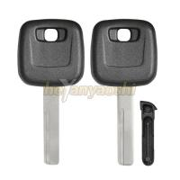 Buy cheap Sliding Chip Holder Volvo Transponder Key Shell Uncut HU56R Key Blank from wholesalers