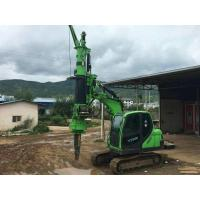 Quality Construction Stratum Bored pile rig machine , pile driving machinery wholesale