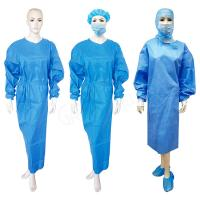 China SMS Material Disposable Isolation Gown Disposable Surgical Clothing Single Use wholesale