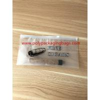 China Zipper Locks Resealable Cigar Humidor Bags With Slider LDPE Laminated White Color wholesale
