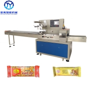 China 1ph 50hz 2.4kw Chikki Bar Food Packaging Machine wholesale