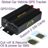 Quality New TK103B Car Vehicle GPS GPRS Tracker W/ Cut-off and Resume Oil & Power remotely by SMS for sale
