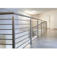China Easy Installation Stainless Steel Railing With Brushed / Mirror Surface Treatments wholesale