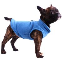 China Winter Fleece Pet Clothes for Dogs Puppy Clothing French Bulldog Coat Pug Costumes Jacket For Small Dogs wholesale