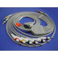 OEM Medical ECG Cables & Lead wires , Patient Monitor Accessories