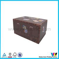 Quality Fancy Nice Delicate Promotion Cardboard Paper Packaging Box for Gift for sale