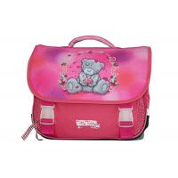 Quality Girl Lovely Polyester School 38Cm Bag With Embroidery And Transparent Buckle for sale