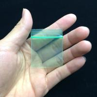 China Self - Styled Zip Lock Pocket Resealable Small Clear Jewelry Bags wholesale