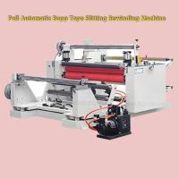 Quality High Speed Automatic Jumbo Roll Paper Slitting Rewinding Machine 2350 * 2000 * 1550mm wholesale