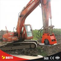 China Excavator attachment BYKC vibratory hydraulic plate compactor for Hitachi ZX135-US wholesale