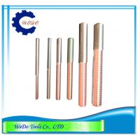 China M10x1.5 EDM Tungsten Copper Tapping Electrodes (CuW) 68mmL For EDM Spark Machine wholesale