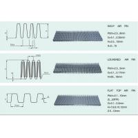China Louvered Air Fin Heat Exchanger Fins Maximise Heat Transfer Area wholesale