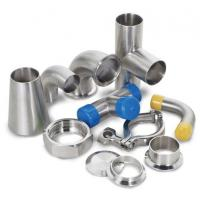 Buy cheap Dairy Welding Tri Clamp Stainless Steel Sanitary Pipe Fittings Corrosion from wholesalers