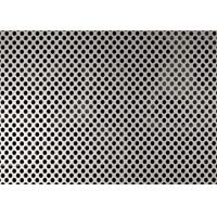 China 2.5mm Hole Diameter Perforated Aluminum Panels , 5052 Aluminum Mesh Sheet wholesale
