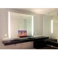 China Touch LCD 32 Inch Frameless Mirror TV Optional Mirror Color Hotel Use wholesale