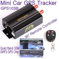 Quality GPS103B Remote Control Car Vehicle Truck GPS Tracker Real Time GPS Tracking Locator System W/ Cut-off oil & power by SMS wholesale