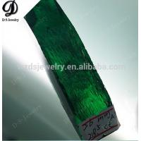 Quality Synthetic emeralds, synthetic green beryl (Be3Al2[Si6O13]) rough stones prices per carat for sale