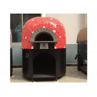 Buy cheap Gas Heating Italy Pizza Oven Lava Rock Materials Various Colors Oven from wholesalers
