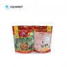 China Custom Printed Food Packaging Bags Doypack Ziplock Reusable Plastic For Snacks wholesale
