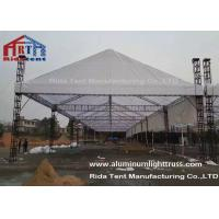 China Silver 3m Length Mini Aluminum Stage Truss Strong Loading Capacity Long Lifespan wholesale