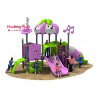 China Disneyland Series Outdoor Playground Slides , Plastic Children's Outdoor Playground Equipment wholesale