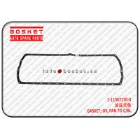 Buy cheap 1113671300 1-11367130-0 Oil Pan To Cylinder Block Gasket For Isuzu CXZ51 6WF1 from wholesalers