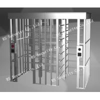 Quality High Security Indoor Outdoor Electric Full Height Turnstiles Barrier Gate For Hotel for sale