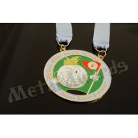 China Novelty Custom Baseball Medals , Kids Sports Medals Gold Silver / Copper Plating wholesale