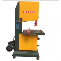 China MJ woodworking twin vertical wood band saw machine with discount price wholesale