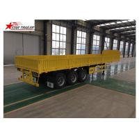 China High Strength Front Load Trailer 50T Max Payload High - Tensile Steel Material wholesale