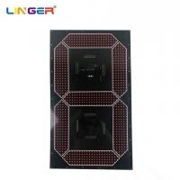China Large Cree 7 Segment Digit Led Digital Board Component In 30 Inch Height wholesale