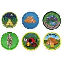 China 3D Embroidery Boy Scout Patch wholesale