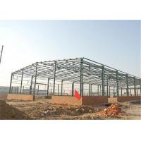 China Industrial Steel Construction Prefab Warehouse Building Q235 / Q345 Material wholesale