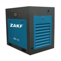 China Air Cooling Direct Air Compressor System , 15HP Blue 11KW Air Screw Compressor wholesale