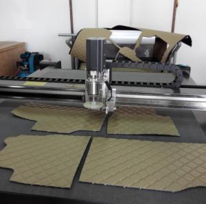 China Wire ring mesh car pad cutting machine wholesale