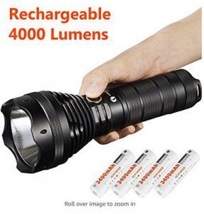 Waterproof Lumintop Sd75 Xhp70 Flashlight , Portable LED Security Flashlight
