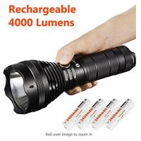 China Waterproof Lumintop Sd75 Xhp70 Flashlight , Portable LED Security Flashlight wholesale