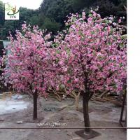 China UVG table centerpieces pink peach blossom small artificial tree for wedding photograph background decoration CHR158 wholesale