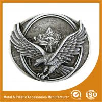 3D Personal Decorative Custom Western Belt Buckle Two Colors Plating