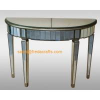 China China supplier venetian mirrored furniture console table/end table wholesale