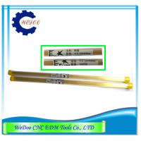 China Double Hole EDM Brass Tube Electrode Pipe 0.55x400mm For EDM Drilling Machine wholesale