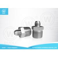 China Industrial JIC NPT Male Hydraulic Flare Fittings 37° Adapters Carbon Steel Material on sale