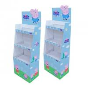 China Toy Packaging Custom Cardboard Display Boxes Beautiful Corner Design wholesale