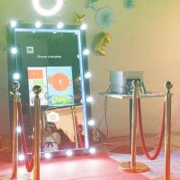 China Touch Screen Full Length Magic Mirror Photo Booth Portable Easy To Use on sale