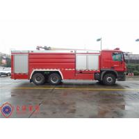 China High Capacity Pumper Tanker Fire Trucks Power 265KW With Pump Drive System wholesale