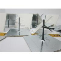 Buy cheap 25x25mm Base Rockwool Self Adhesive Insulation Pins For Havc System from wholesalers