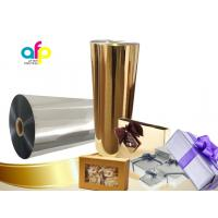 Buy cheap Chemically Treated Polyester Metallized Thermal Laminate Film for Offset Printing from wholesalers