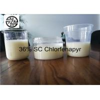 Buy cheap Low Toxicity Chlorfenapyr 36 SC , 360G / L SC Insecticide Acaricide from wholesalers