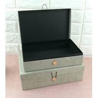 China Luxury Rigid Cardboard Custom Printed Jewelry Boxes , Jewelry Gift Boxes With Closure wholesale